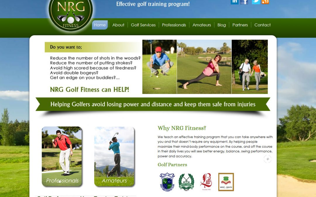 Oakville Golf Fitness
