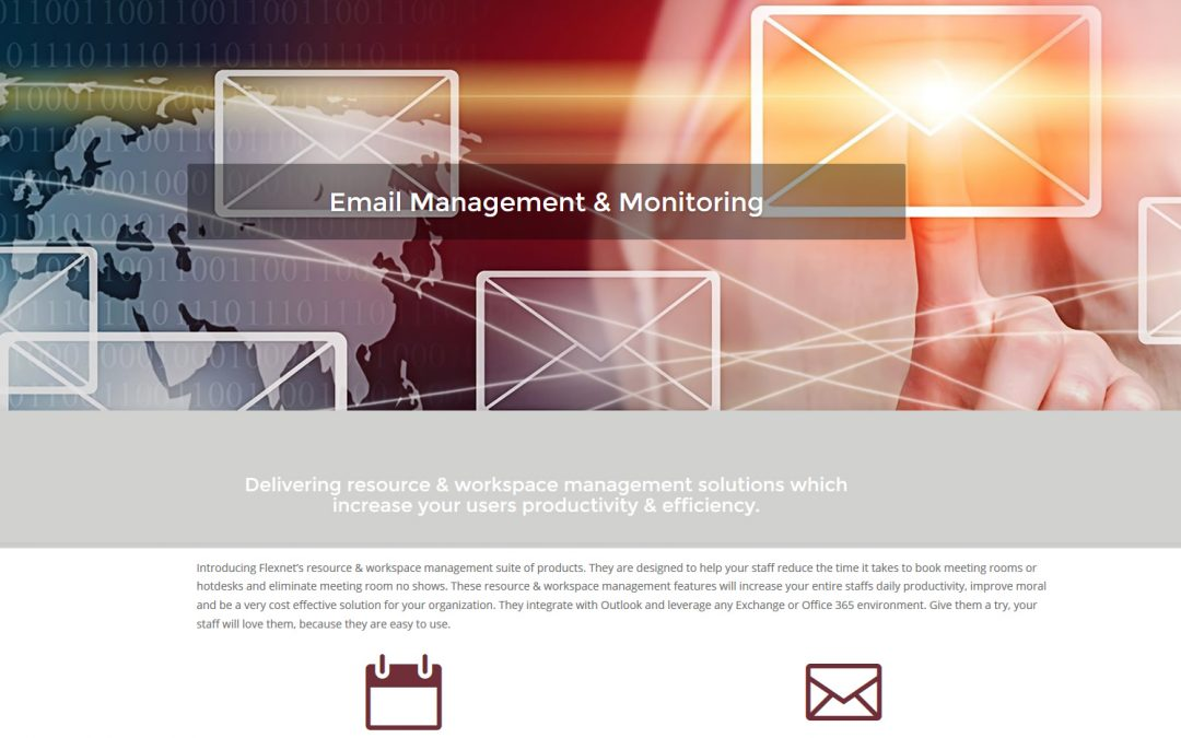 Redesign website for Mississauga software sales
