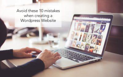Avoid These 10 WordPress Mistakes