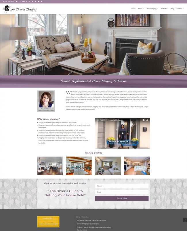 Home Stager Redesign