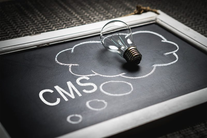 CMS on your website allows content changes