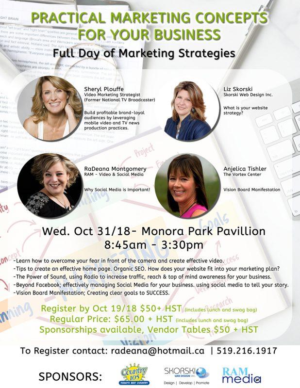Marketing seminar Oct 31/18