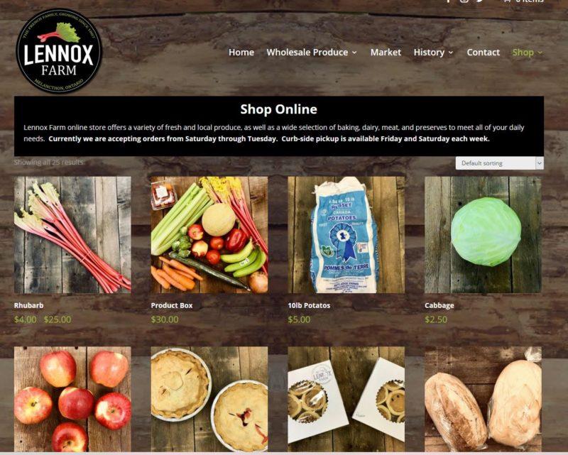 Farm online store